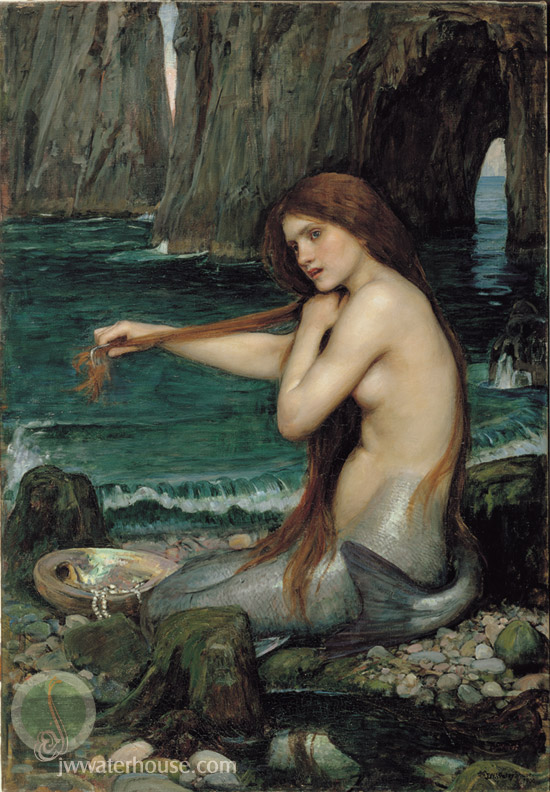 syr duze waterhouse_a_mermaid