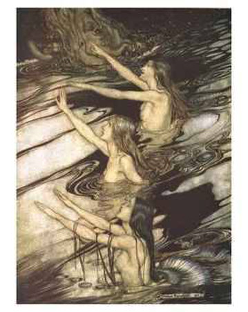 szr arthur-rackham-the-sirens-from-seigfried-and-the-twilight-of-the-gods