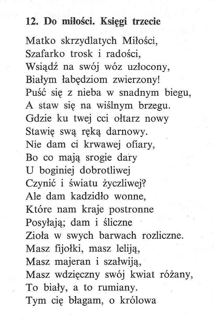 Jan Kochanowski Z Czarnolasu 1530 1584 Strażnik Wiary