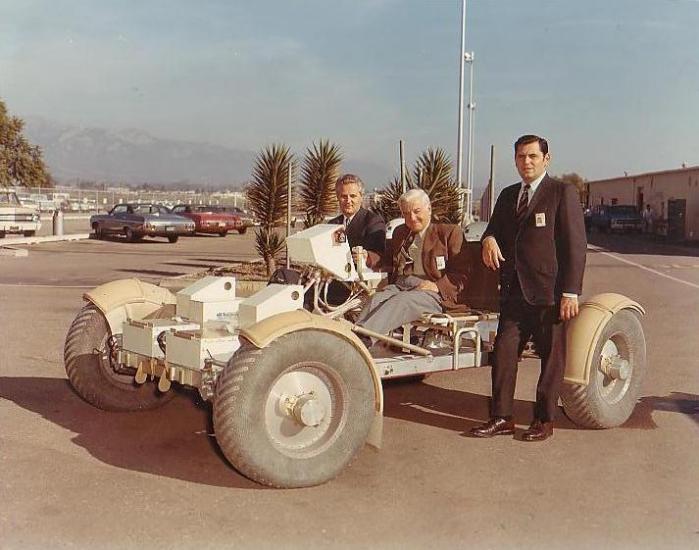 Mieczysław Bekker (1905 – 1989) – pojazd księżycowy LRV