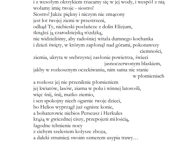 Fryderyk Hölderlin 1770 1843 I Jego Wiersze W Duchu